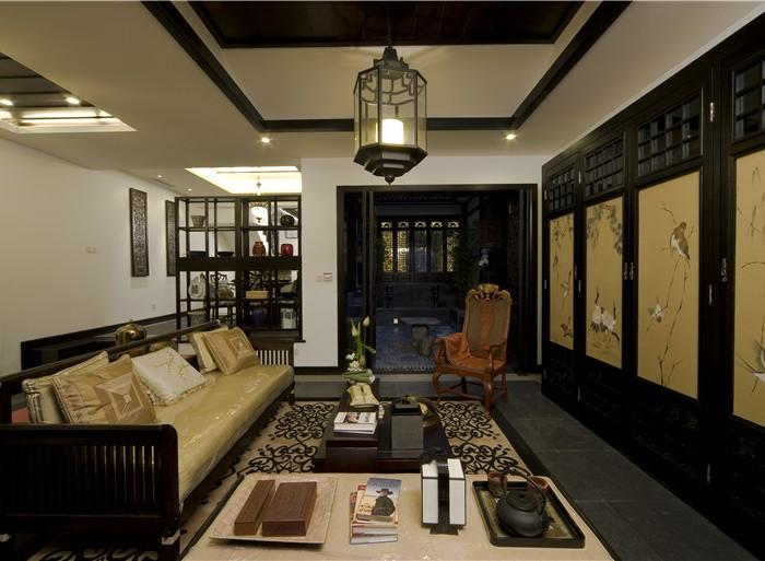 西式古典-142.01平米四居室-装修样板间