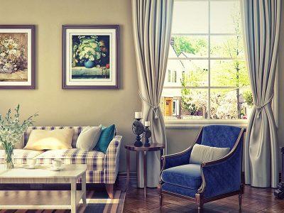 田园风格-75平米二居室装修样板间