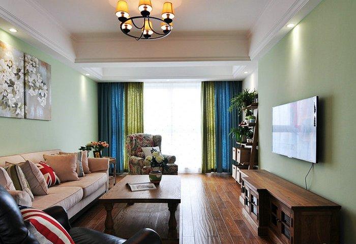 混搭风格-140平米三居室-装修样板间
