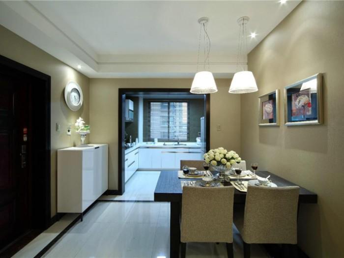 现代简约-135平米三居室-装修样板间