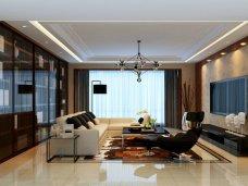 现代时尚-82平米三居室装修图片