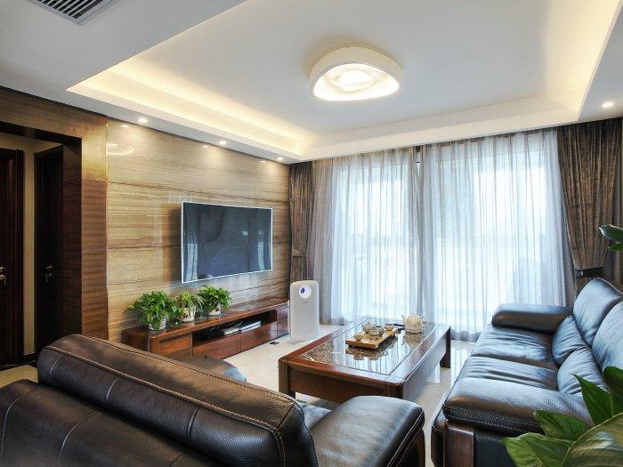 现代简约-88平米三居室-装修样板间