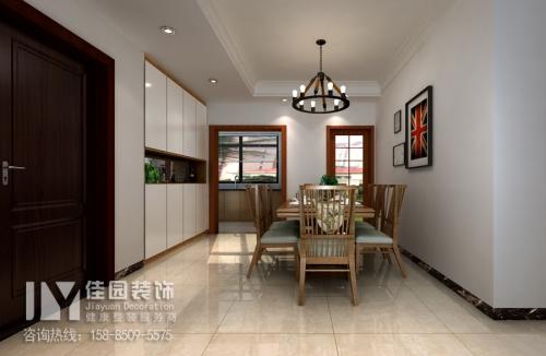 美的林城宜家风格3居室