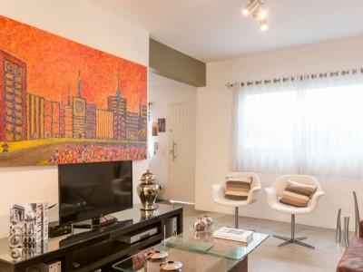 欧美风情-121平米三居室装修样板间