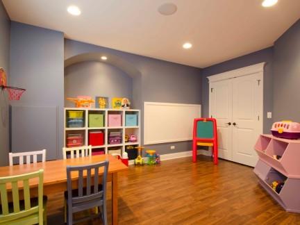 原木色二居室整洁儿童房空间装修实景图