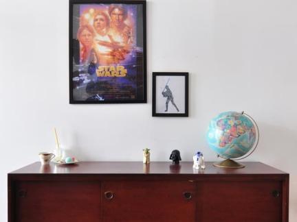 简约风格公寓温润怀旧储物柜装修图片