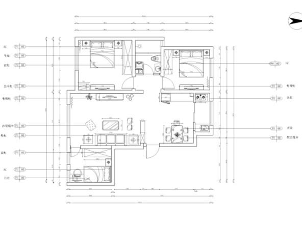 灯池设计平面图