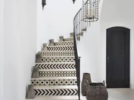 清爽简约风格跃层设计创意楼梯图片欣赏