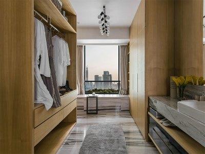 港式风格-113平米三居室装修样板间