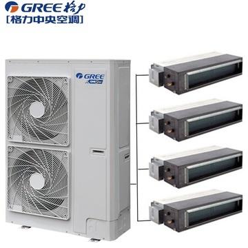 北京格力一拖四中央空调 格力家用中央空调一拖四