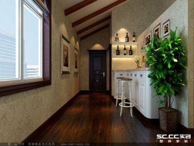 美式风格-250平米别墅装修样板间