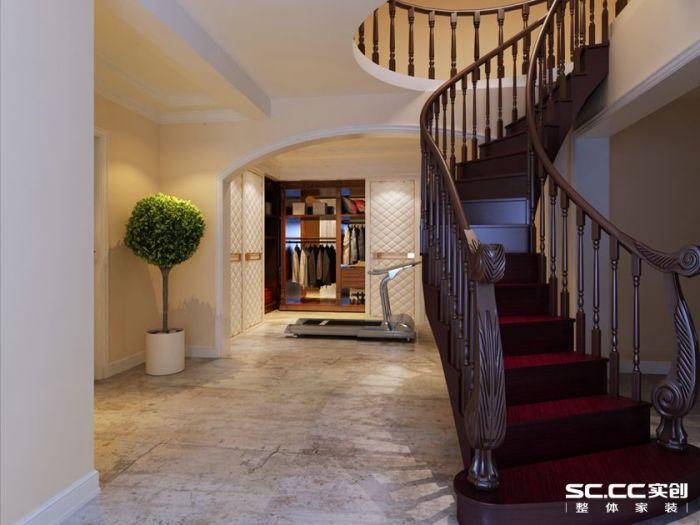 欧美风情-160平米四居室-装修样板间
