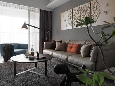 新古典风格-135平米三居室装修设计