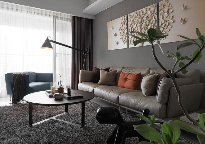 新古典风格-135平米三居室-装修设计