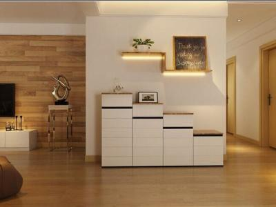 日韩风格-139.2平米三居室装修样板间