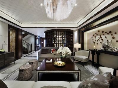 中式风格-162.94平米四居室装修样板间