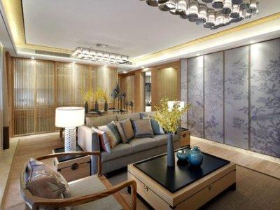 中式风格-0平米三居室装修样板间