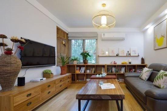 中式古典-81.8平米二居室-装修样板间