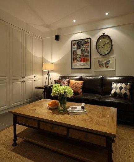田园风格-85平米二居室-装修样板间