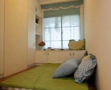 地中海风格-87.33平米二居室装修样板间