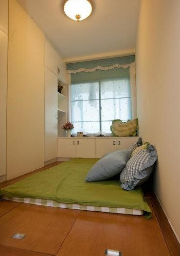 地中海风格-87.33平米二居室-装修样板间
