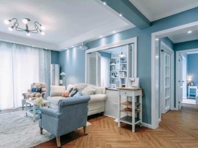 地中海风格-132平米三居室装修样板间