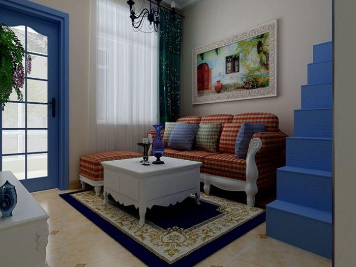 现代简约-55平米二居室-装修样板间