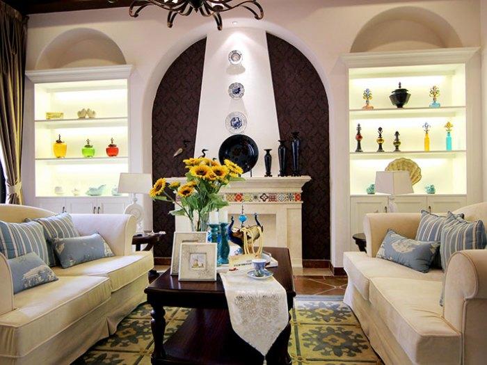 地中海风格-267平米四居室-装修样板间