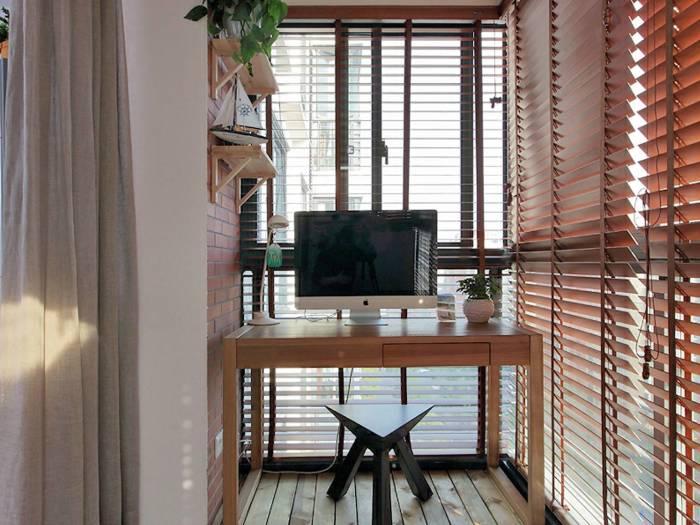 现代简约-78平米二居室-装修样板间