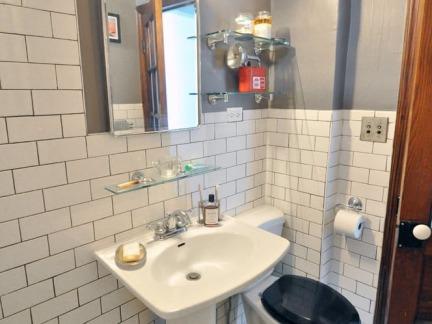 清爽北欧风格公寓卫生间装修效果图
