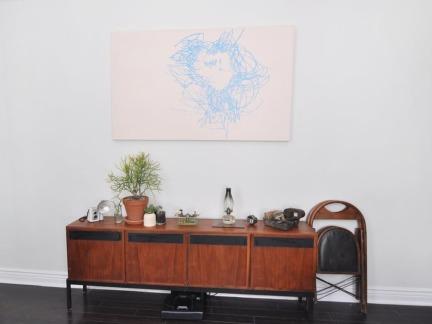 典雅美式风格原木色储物柜图片欣赏