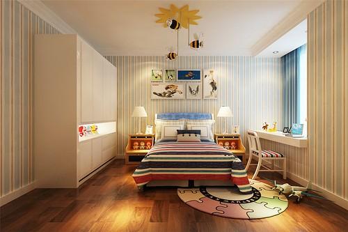 简欧风格-156平米三居室-装修样板间