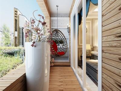 简欧风格-156平米三居室装修样板间