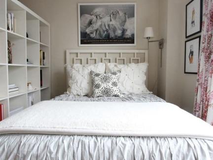 优雅艺术现代风格小户型卧室装修图片
