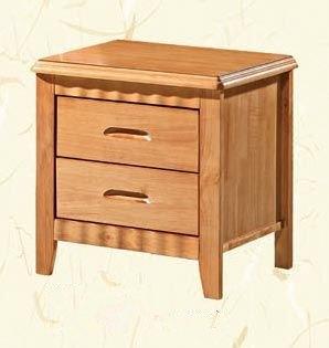 泰国进口橡木床头柜 实木床边收纳小柜整装特价
