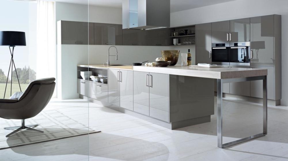 简约风格高端厨房橱柜装修实景图