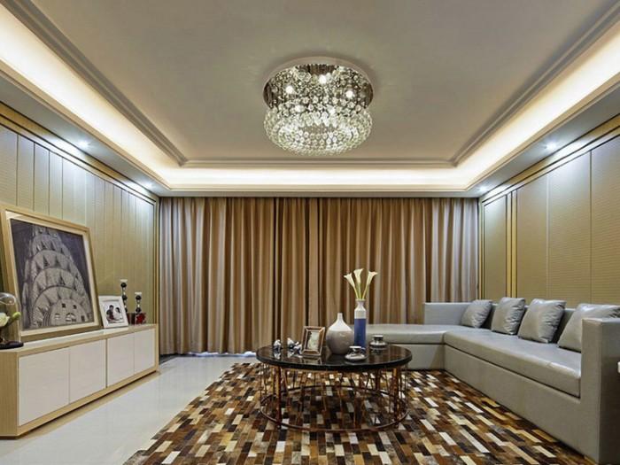 中式风格-88平米二居室-装修样板间