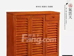 橡木实木鞋柜新款现代中式