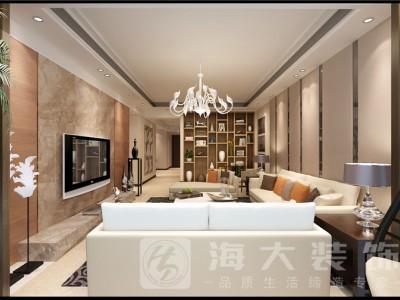 现代简约-145平米三居室装修样板间