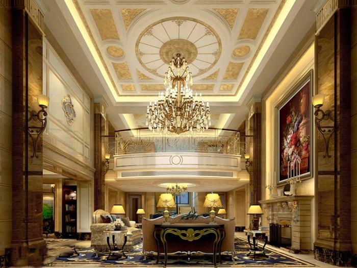 新古典风格-0平米五居室-装修样板间