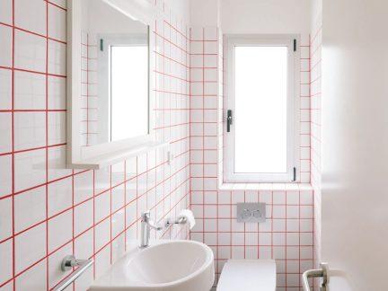 个性时尚简约风格小户型卫生间装修图片