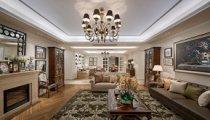 270平米四居室装修案例 欧美风情半包14万!-雅居乐星河湾装修