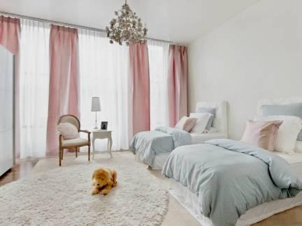 温馨甜美欧式风格儿童房装修设计