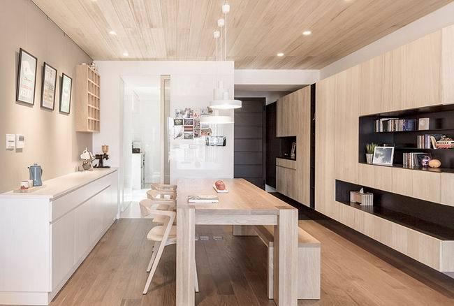 欧美风情-95平米三居室-装修样板间