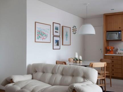 优雅北欧风格小户型柔软沙发图片欣赏