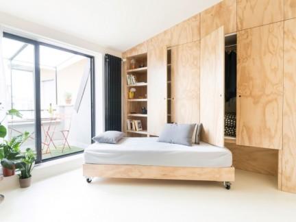 现代风格实用家居可移动卧床效果图