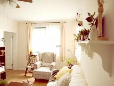 田园风格-96平米二居室装修样板间