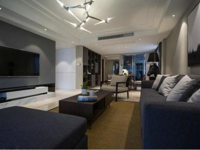 日韩风格-153平米四居室装修样板间