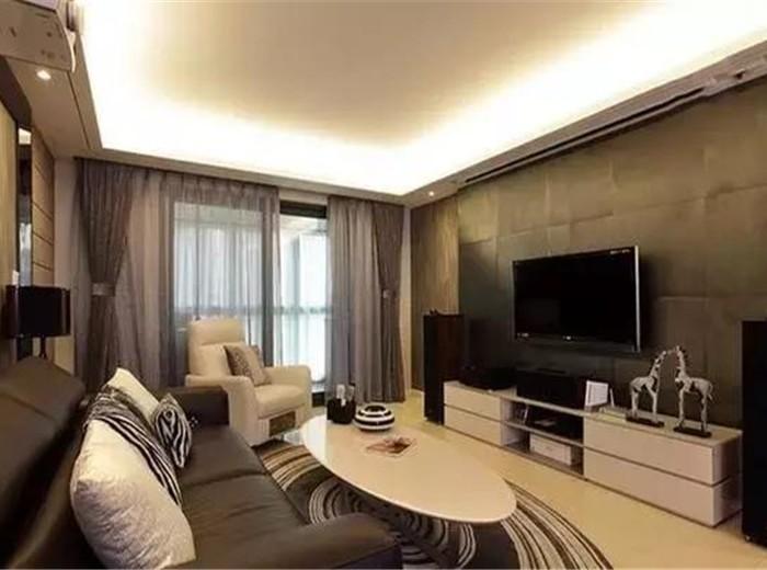 现代简约-115.9平米三居室-装修样板间