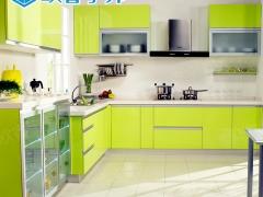 欧睿宇邦整体厨房厨柜整体橱柜定做现代烤漆门板厨房订做装修定制